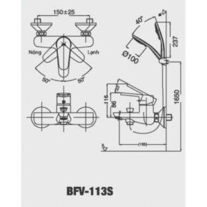 Inax BFV-113S