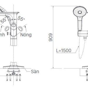 INAX BFV-656S